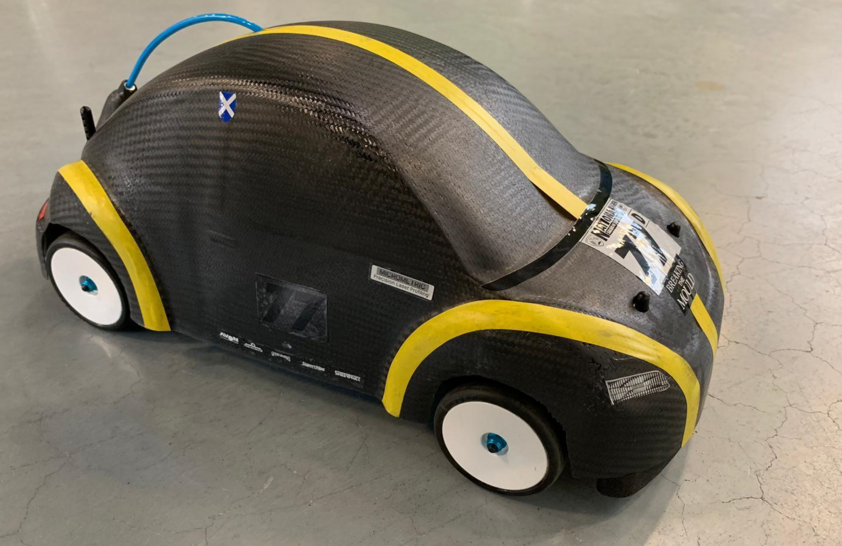 Model Vehicle with Fuel Cell Drive