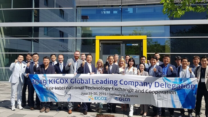 Korean company representatives at the ITA